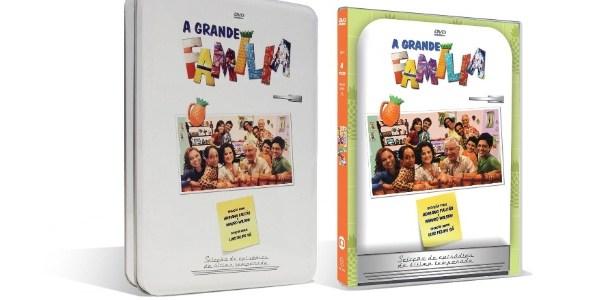 """Globo lança box de DVD com a última temporada de """"A Grande Família"""""""