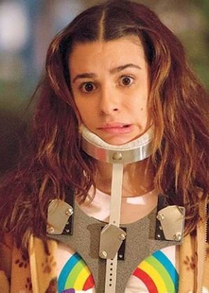 """Estrela de """"Glee"""", Lea Michele aparece como deficiente em nova série"""
