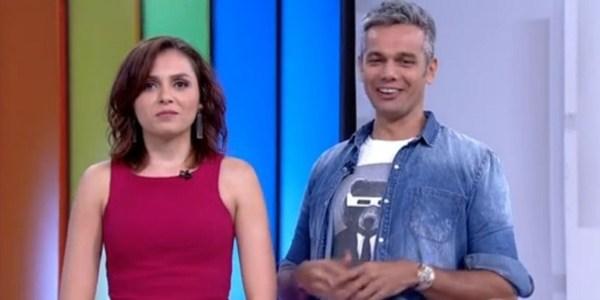 """Monica Iozzi elege hálito de Murilo Rosa como """"o melhor da TV brasileira"""""""