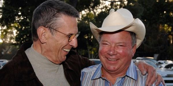 William Shatner planeja escrever livro sobre amizade com Leonard Nimoy