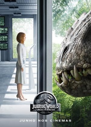 """Diretor divulga o 1º pôster de """"Jurassic World - O Mundo dos Dinossauros"""""""