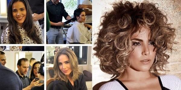 Após críticas, cabeleireiro mostra visual da cantora Wanessa ao natural