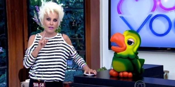"""No """"Mais Você"""", Ana Maria chora ao assistir a entrevista de Huck e Angélica"""