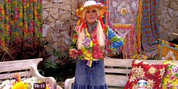 """No """"Mais Você"""", Ana Maria Braga faz arraial na casa do """"Big Brother Brasil"""""""