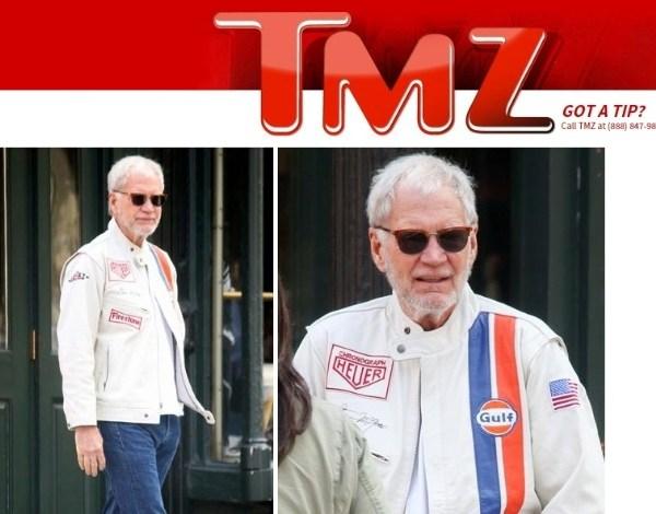 Aposentado, David Letterman exibe visual barbudo em passeio por Nova York