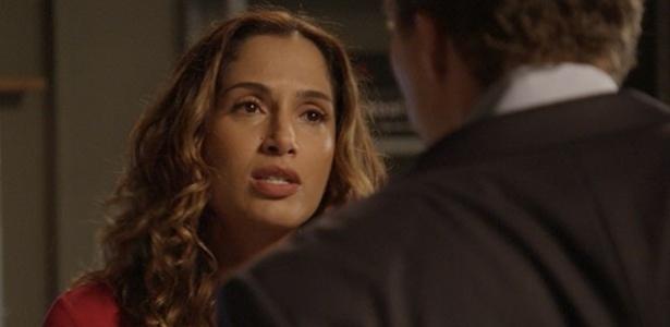 """Em """"Babilônia"""", Regina acaba namoro com Vinícius por causa da prisão de ex"""