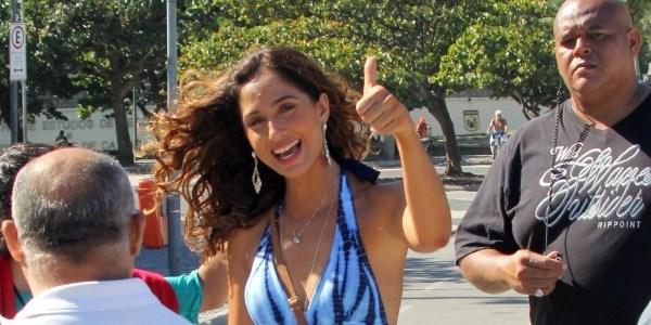 """""""Playboy"""" é condenada a pagar Camila Pitanga e Nathalia Dill por fotos nuas"""