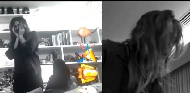 """Bruna Marquezine dá susto em Sasha no dia do seu aniversário: """"Te amo"""""""