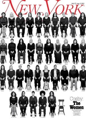 Capa de revista reúne 35 mulheres que acusam Bill Cosby de abuso sexual