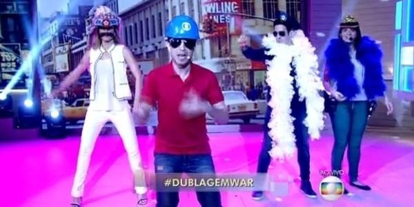 """Nas férias de Fátima, guerra de dublagem agita """"Encontro"""" e """"Video Show"""""""