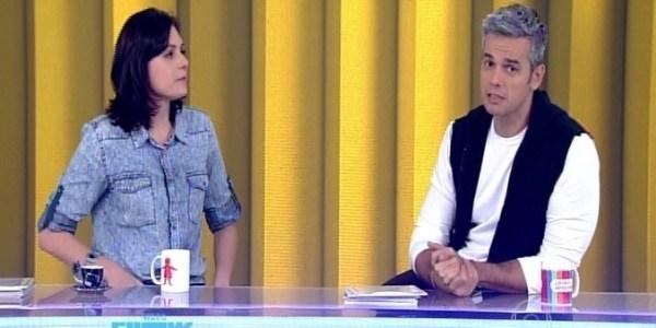 Monica Iozzi e Otaviano se emocionam ao vivo com homenagem à Daniela Perez