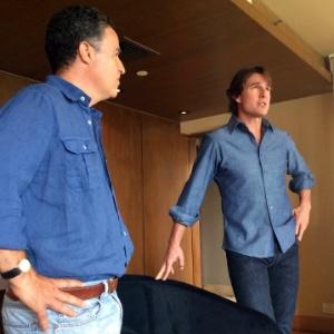 Dois membros da produção de filme de Tom Cruise morrem em acidente aéreo
