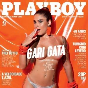 """""""Recebo cantadas como 'varre meu coração'"""", diz gari gata capa da """"Playboy"""""""