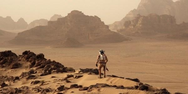 """""""Sabia há meses"""", diz diretor de """"Perdido em Marte"""" sobre água no planeta"""