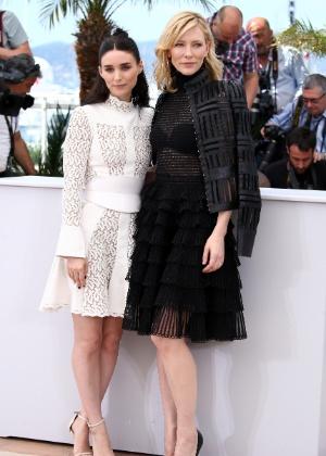 """""""Foi aterrorizante"""", diz Rooney Mara sobre contracenar com Cate Blanchett"""