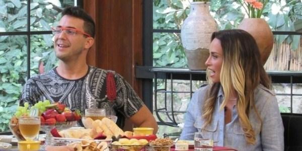 """André Marques revela que já """"rolou um clima"""" com a atriz Susana Pires"""