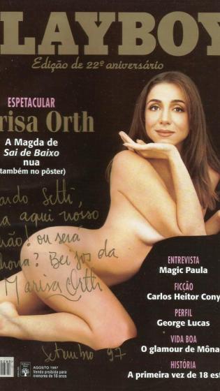 Marisa Orth posou no auge do sucesso de Sai de Baixo