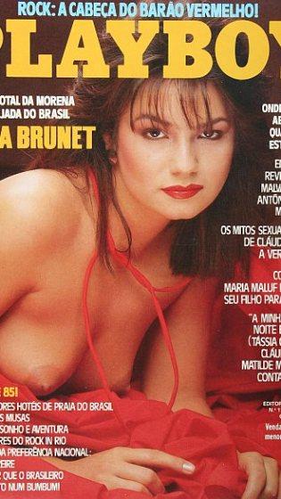 Foto sem data Capa da revista Playboy, edição 113, de Dezembro de 1984.