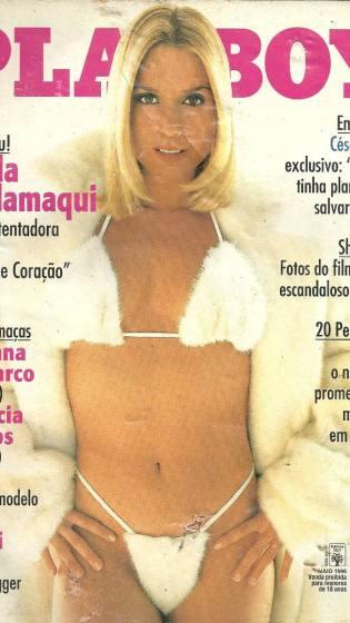 A edição de Paula Burlamaqui é inesquecível pros fãs de Playboy