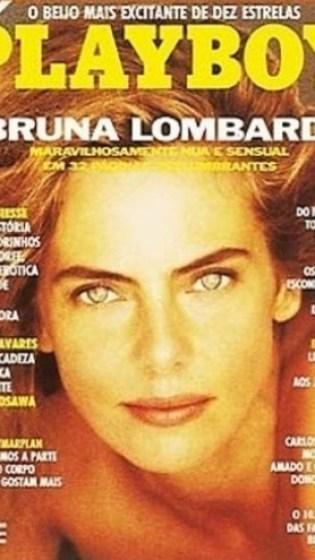 A estrela Bruna Lombardi ganhou um encarte especial