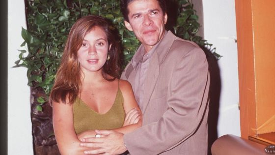 Com José Mayer, seu par em Meu Bem, Meu Mal