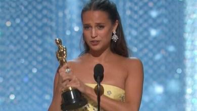 Foto de Alicia Vikander vence Oscar de atriz coadjuvante por A Garota Dinamarquesa