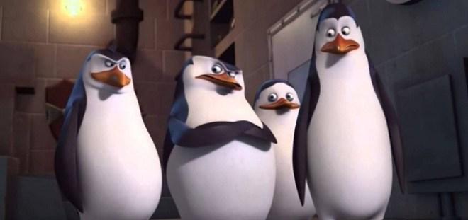 Imagem de Os Pinguins de Madagascar, desenho exibido pelo SBT, que bateu Fátima