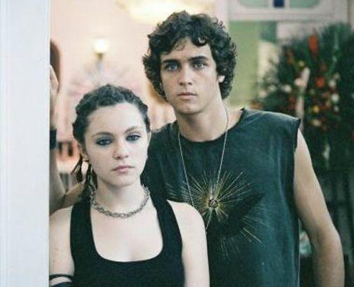 """A atriz contracena com Felipe Dylon no filme """"A Guerra dos Rocha"""" (2008) (Reprodução)"""