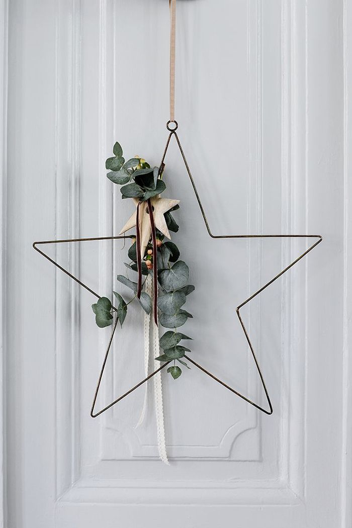 cómo hacer coronas navideñas sencillas