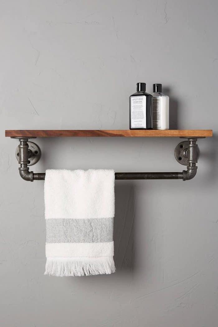 haz tu propio toallero diy