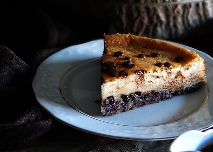 Cheesecake de chocolate (Receta sencilla)