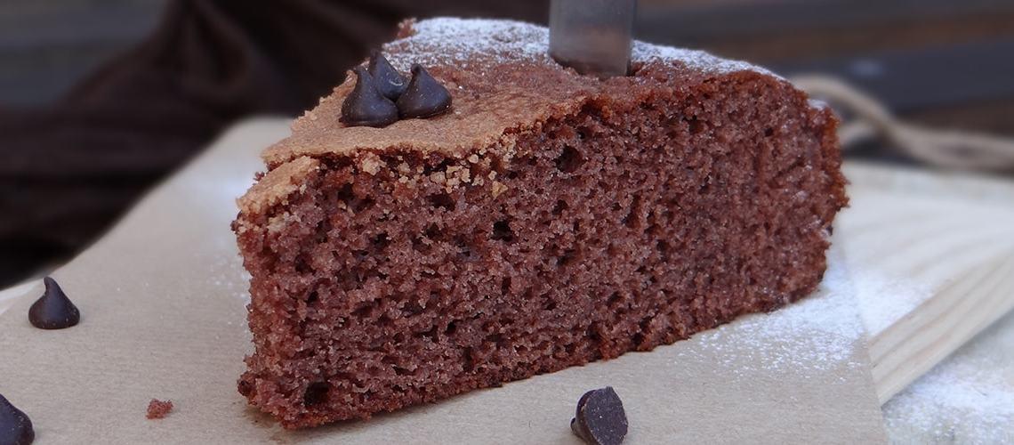 Bizcocho de chocolate fácil y buenísimo
