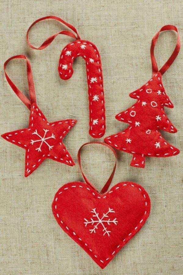 Haz tus propios adornos para el árbol de navidad