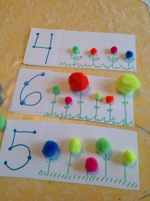 Aprender los números jugando