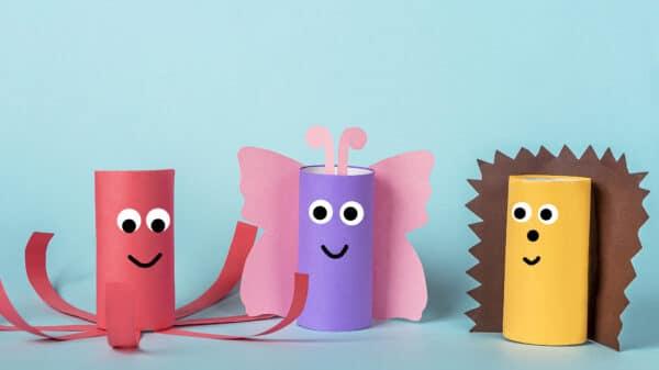 Manualidades con papel y cartón para reciclar