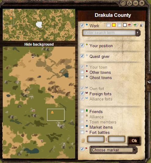 Miejsce cyrku na mapie