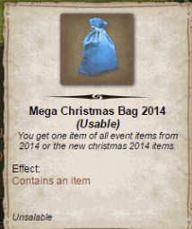 Mega Christmas Bag 2014