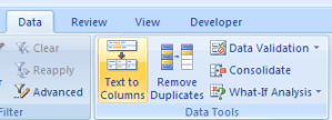 menu_text_to_column
