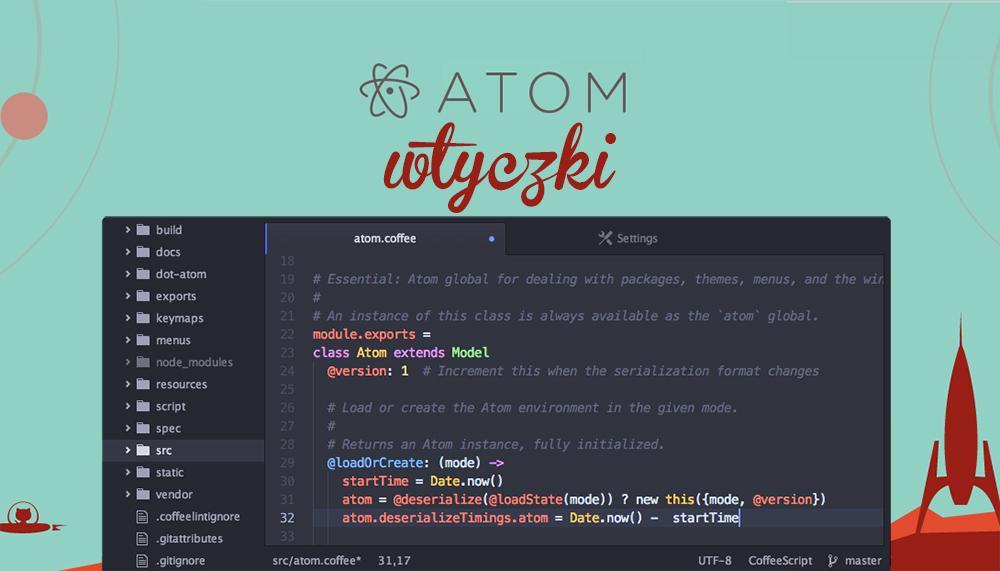 wtyczki atom.io