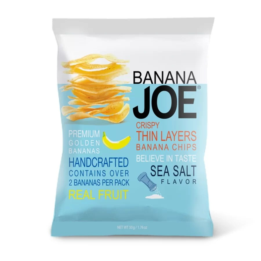 Chipsy z banana - Banana Joe – złocista nowość od Purella Food!