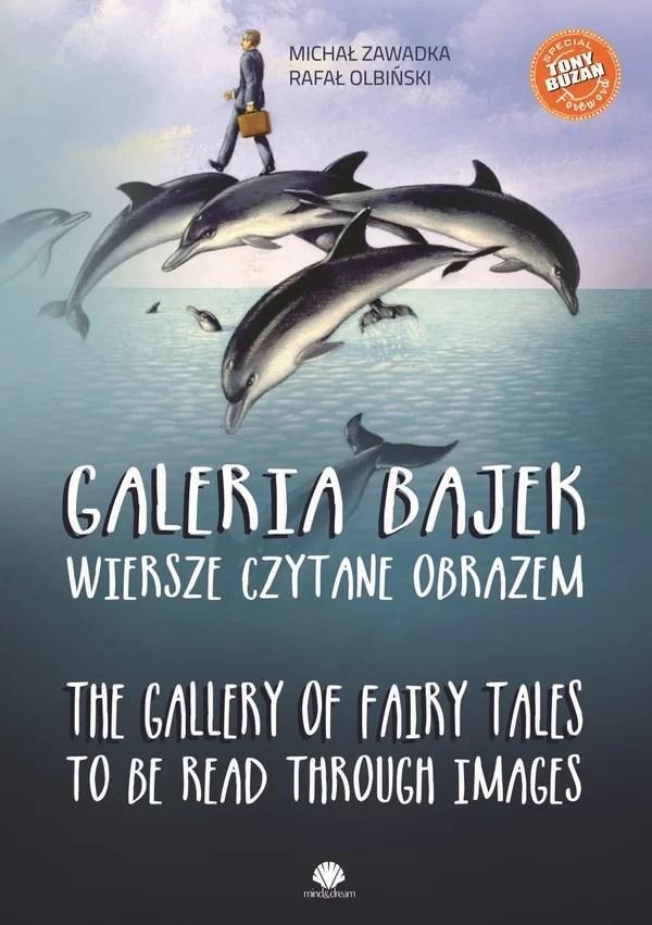 """""""Galeria bajek"""" to synergia słowa i sztuki. To zbiór wierszy autorstwa Michała Zawadki"""