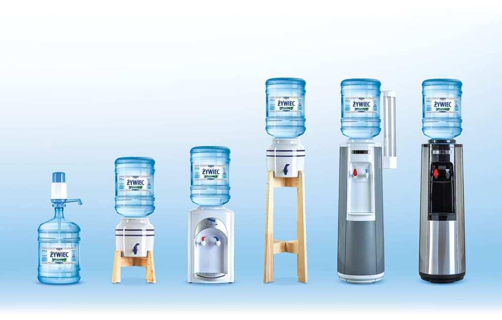 Dystrybutory wody źródlanej Perla
