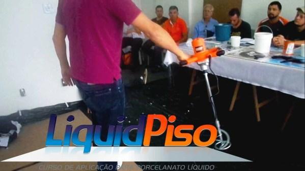 Curso porcelanato liquido liquid piso em São Paulo SP