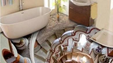 Photo of Porcelanato líquido banheiro!
