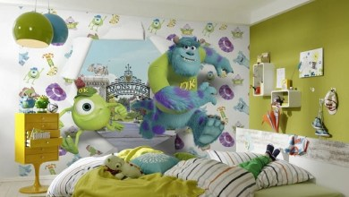 Photo of Papel de parede para quarto de meninas e meninos!