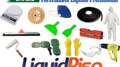 Photo of Ferramentas Aplicação Porcelanato Líquido Liso e 3d