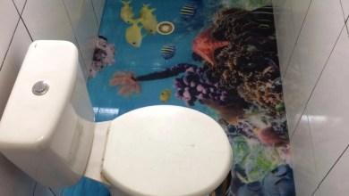 Photo of Banheiro 3d Aluno LiquidPiso!