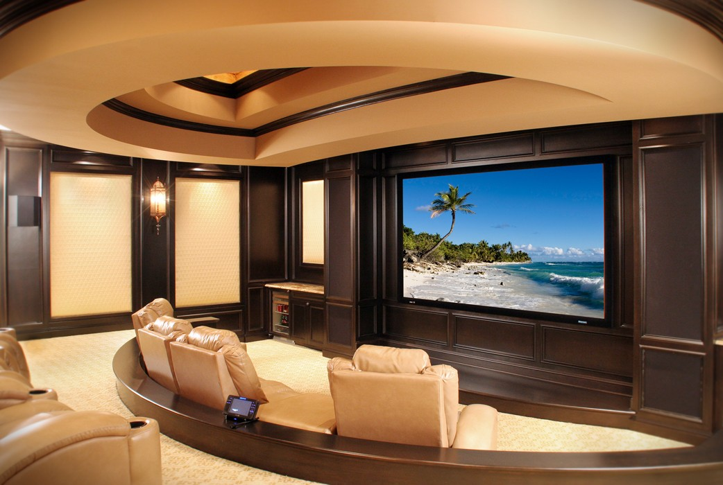 11 Ultra-Luxe Home Movie Theaters You Have To See To