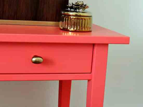 Coral Guest Room Makeover