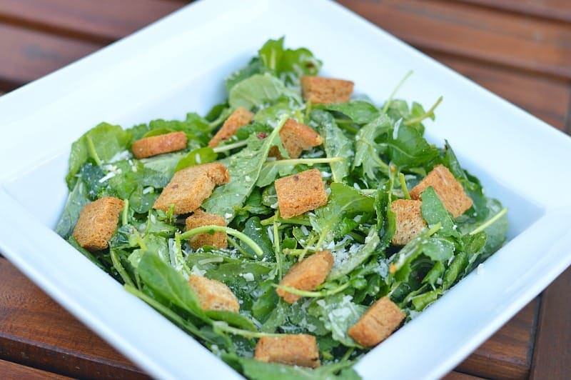 Kale Caesar Salad - a delicious accompaniment to any dinner!